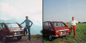 20年前と今の愛車と運転手