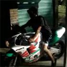 自慢のバイクが数秒後にオシャカ