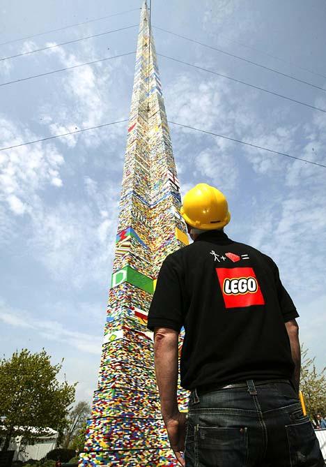 世界一高いレゴタワー02