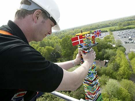 世界一高いレゴタワー03