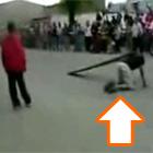 人間ジャンプ台
