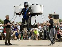 一人乗り飛行装置