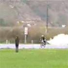 自転車にロケット