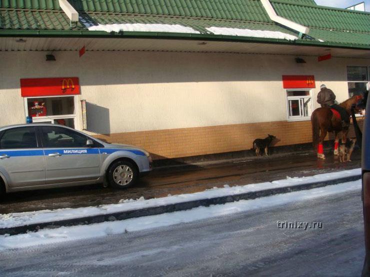 ロシアのドライブスルー3