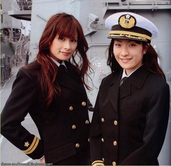 日本の女性兵士
