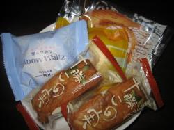 柳月のお菓子4種