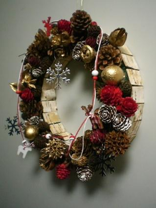 Xmas wreath 2011-1