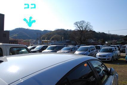 DSC_0256 1111臨時駐車場
