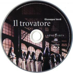 Blu-ray Il trovatore Disc