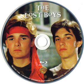 Blu-ray The Lost Boys Disc