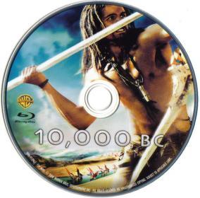 Blu-ray 10,000BC Disc