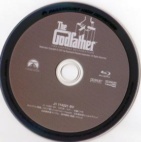 Blu-ray The Godfather Disc