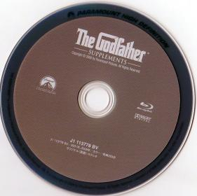 Blu-ray The Godfather Supplements Disc