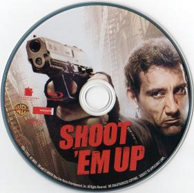 Blu-ray SHOOT 'EM UP Disc