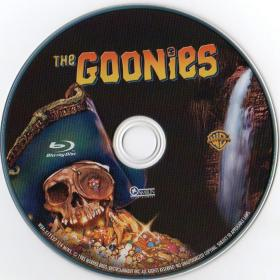 Blu-ray THE GOONIES Disc