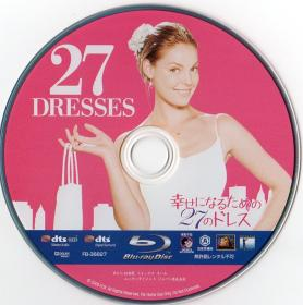 Blu-ray 27 Dresses Disc