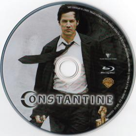 Blu-ray Constantine Disc