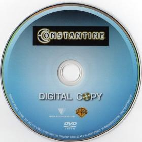 Blu-ray Constantine Digital Copy Disc