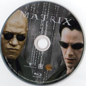 Blu-ray THE MATRIX Disc