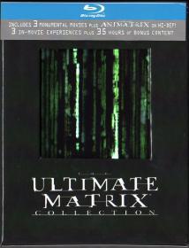 Blu-ray THE MATRIX BOX -1