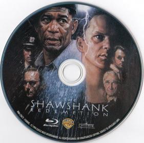 Blu-ray The Shawshank Redemption Disc