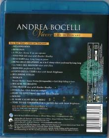 Blu-ray Andrea Bocelli Live in Tuscany -2