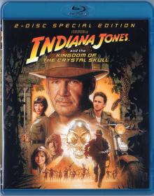 Blu-ray Indiana Jones and the Kingdom of the Crystal Skull -1