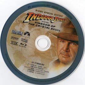 Blu-ray Indiana Jones and the Kingdom of the Crystal Skull Disc-1