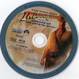 Blu-ray Indiana Jones and the Kingdom of the Crystal Skull Disc-2