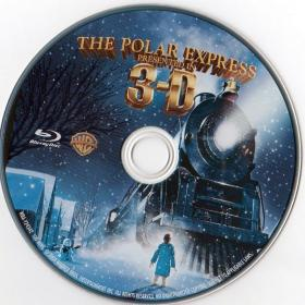 Blu-ray The Polar Express 3D Disc