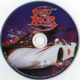 Blu-ray Speed Racer Disc