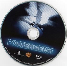 Blu-ray Poltergeist Disc