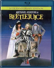 Blu-ray BEETLEJUICE 20th Aniv -1
