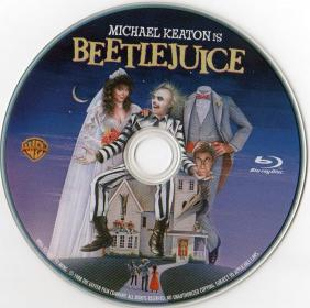 Blu-ray BEETLEJUICE 20th Aniv Disc