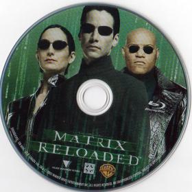 Blu-ray MATRIX RELOADED Disc
