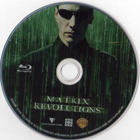 Blu-ray MATRIX REVOLUTIONS Disc