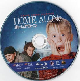 Blu-ray HOME ALONE Disc