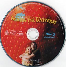 Blu-ray ACROSS THE UNIVERSE Disc