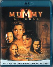 Blu-ray THE MUMMY RETURNS -1