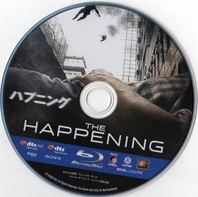 Blu-ray The Happening Disc