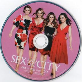 Blu-ray SEX AND THE CITY THE MOVIE Disc