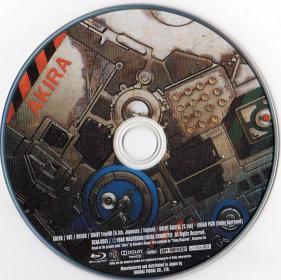 Blu-ray AKIRA Disc