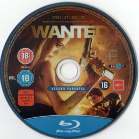 Blu-ray WANTED Disc