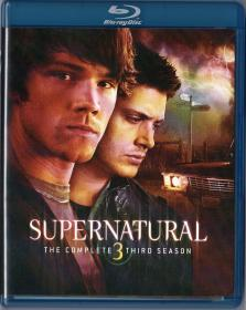 Blu-ray SUPERNATURAL The Complet 3rd Season -1