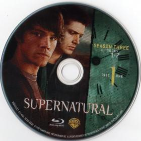 Blu-ray SUPERNATURAL The Complet 3rd Season Disc 1