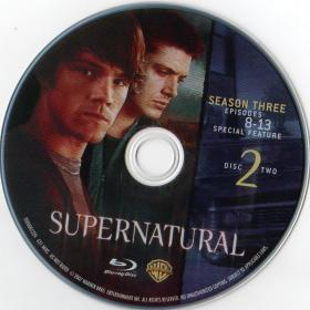 Blu-ray SUPERNATURAL The Complet 3rd Season Disc 2