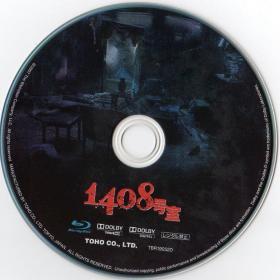 Blu-ray 1408 Disc