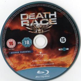 Blu-ray Death Race Disc