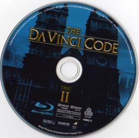 Blu-ray The Da Vinci Code Disc 2