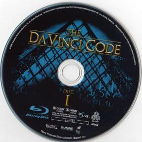Blu-ray The Da Vinci Code Disc 1